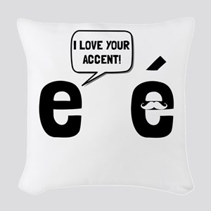 Love Accent Woven Throw Pillow