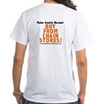Buy From Chain Stores White T-Shirt