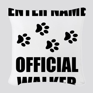 Official Pet Walker Personalize It! Woven Throw Pi