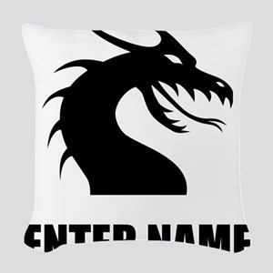 Dragon Personalize It! Woven Throw Pillow