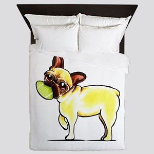 Sporty Frenchie Queen Duvet