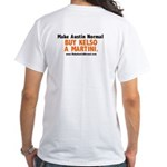 Kelso Martini White T-Shirt