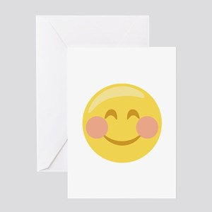 Smiley Face Emoticon Greeting Cards