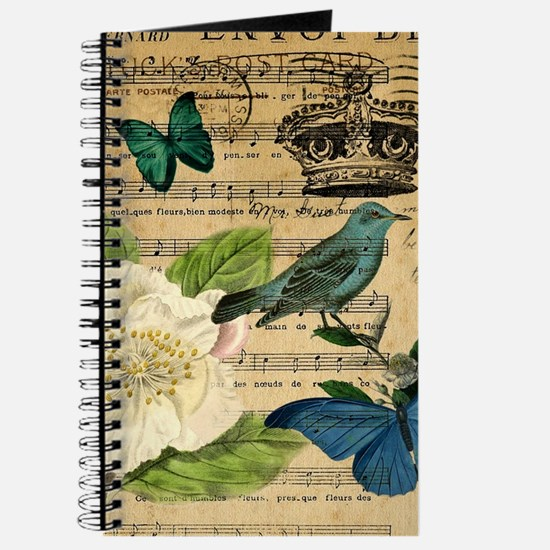 paris rose butterfly music notes jubilee Journal