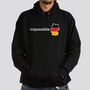 Impossible Germany white text Hoodie