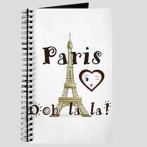 Paris Ooh La La Journal