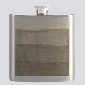 Faux Crumpled Texture Flask