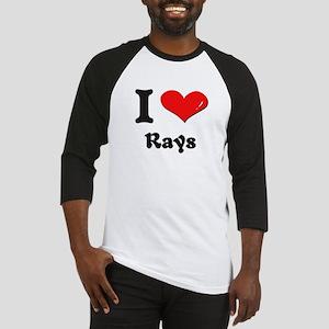 I love rays Baseball Jersey