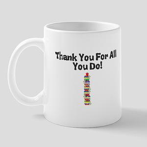 Thankyouforallyoudo Mugs