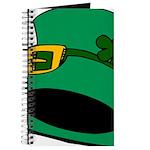 Leprechaun Hat with Shamrock Journal