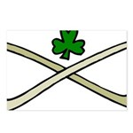 Shamrock and Pipes Postcards (Package of 8)