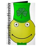 Smiley with Shamrock Journal