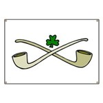 Shamrock and Pipes Banner