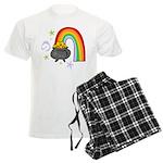 Rainbow with Crock of Gold pajamas