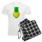 Smiley with Shamrock pajamas