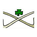 Shamrock and Pipes Wall Sticker