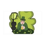 St Patricks Day Man with Beer Wall Sticker