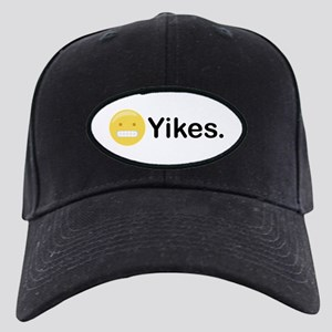 Yikes Emoticon Baseball Hat