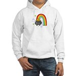 Rainbow with Crock of Gold Jumper Hoody