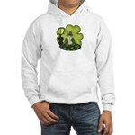 St Patricks Day Man with Beer Jumper Hoody