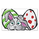 Spring Bunny with Easter Eggs Sticker