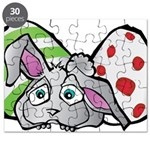 Spring Bunny with Easter Eggs Puzzle