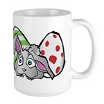 Spring Bunny with Easter Eggs Mugs
