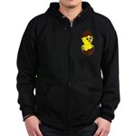 Newborn Chick with Chocolate Egg Zip Hoody