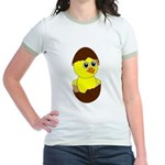 Newborn Chick with Chocolate Egg T-Shirt