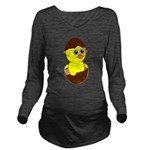 Newborn Chick with Chocolate Egg Long Sleeve Mater