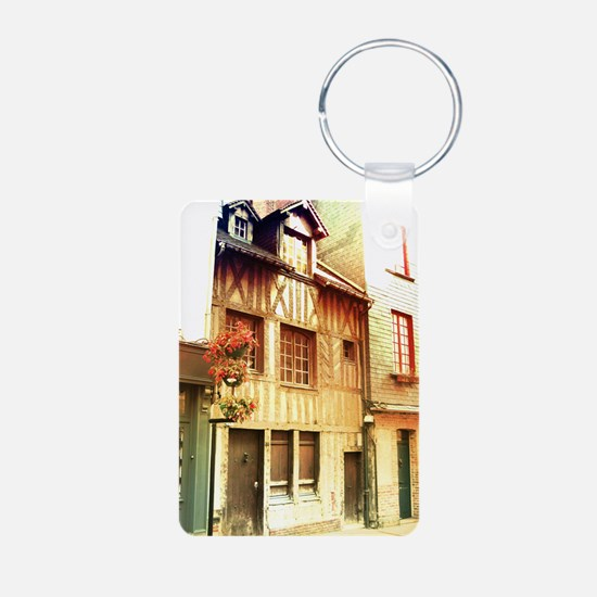 french house Keychains