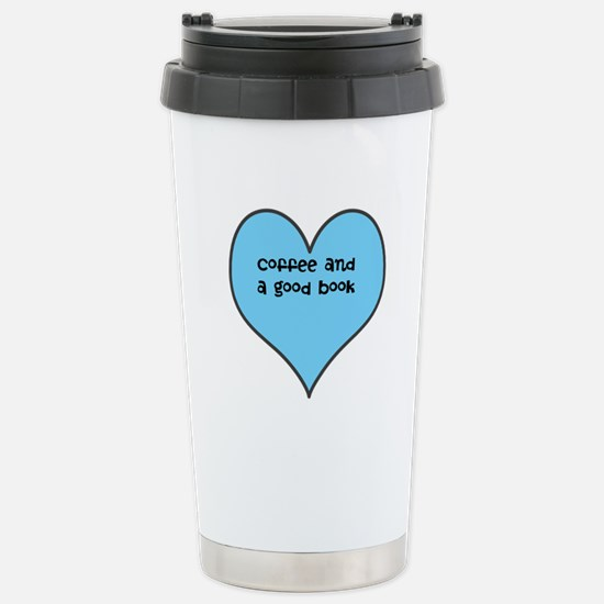 coffee and a book... Travel Mug
