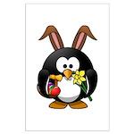 Easter Penguin Poster Art