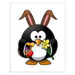 Easter Penguin Poster Design