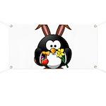 Easter Penguin Banner