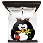 Easter Penguin King Duvet