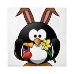 Easter Penguin Queen Duvet