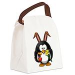 Easter Penguin Canvas Lunch Bag