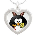Easter Penguin Necklaces