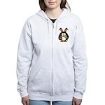 Easter Penguin Zip Hoody