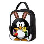 Easter Penguin Neoprene Lunch Bag