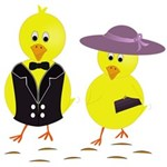 Easter Sunday Chick York Wall Coverings