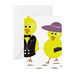 Easter Sunday Chick Greeting Cards