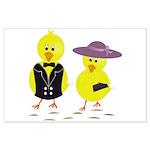 Easter Sunday Chick Poster Art