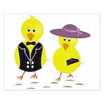 Easter Sunday Chick Poster Design