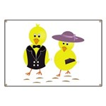 Easter Sunday Chick Banner