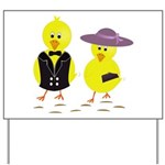 Easter Sunday Chick Yard Sign