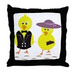 Easter Sunday Chick Throw Pillow
