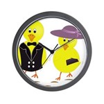 Easter Sunday Chick Wall Clock