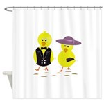 Easter Sunday Chick Shower Curtain